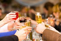Réception, boisson, alcool
